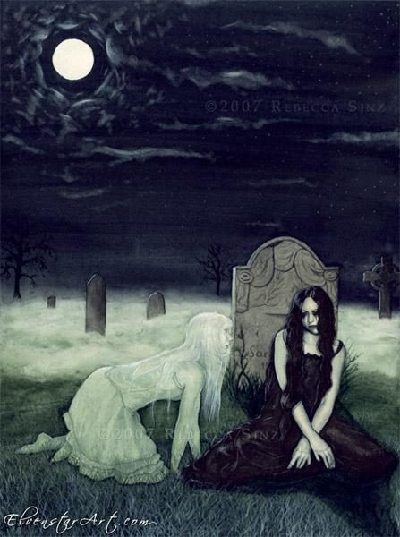 night, dark, scary, dark art