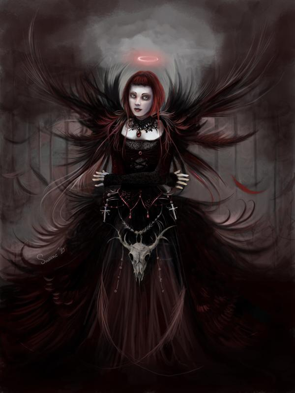 dark art, dark beauty