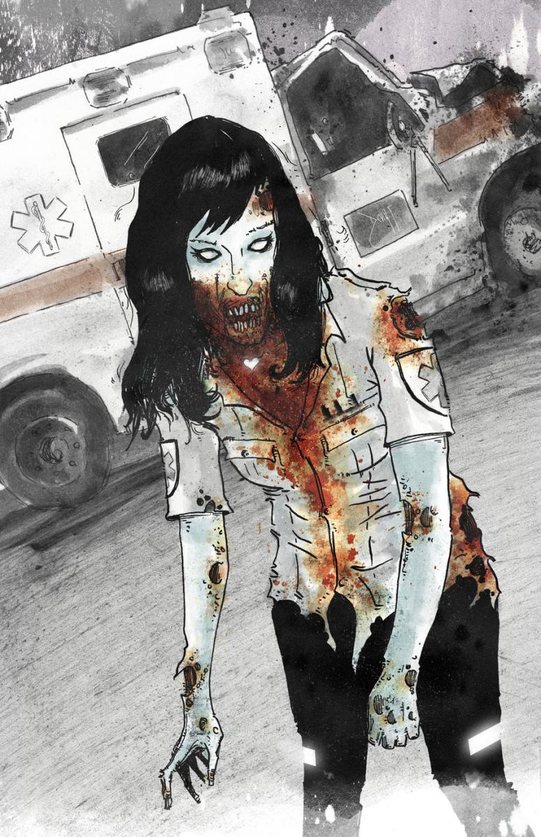 zombie, creepy