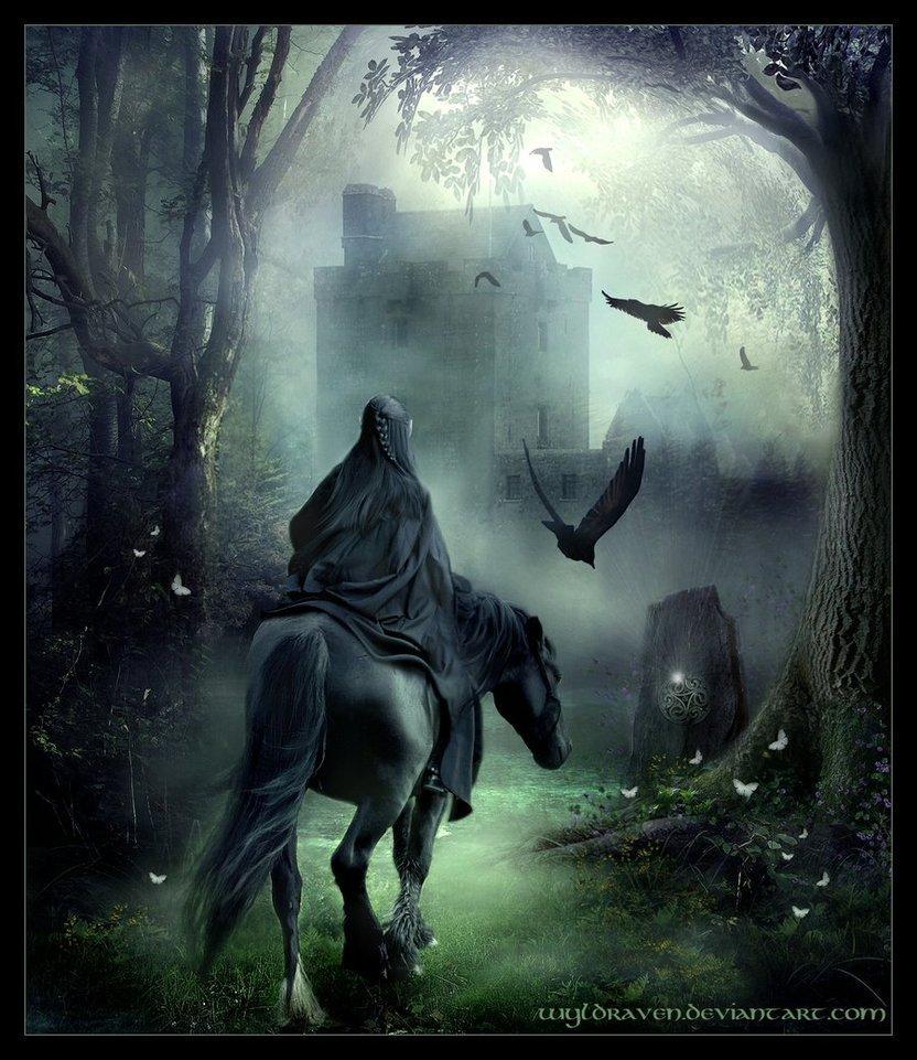 dark art, night