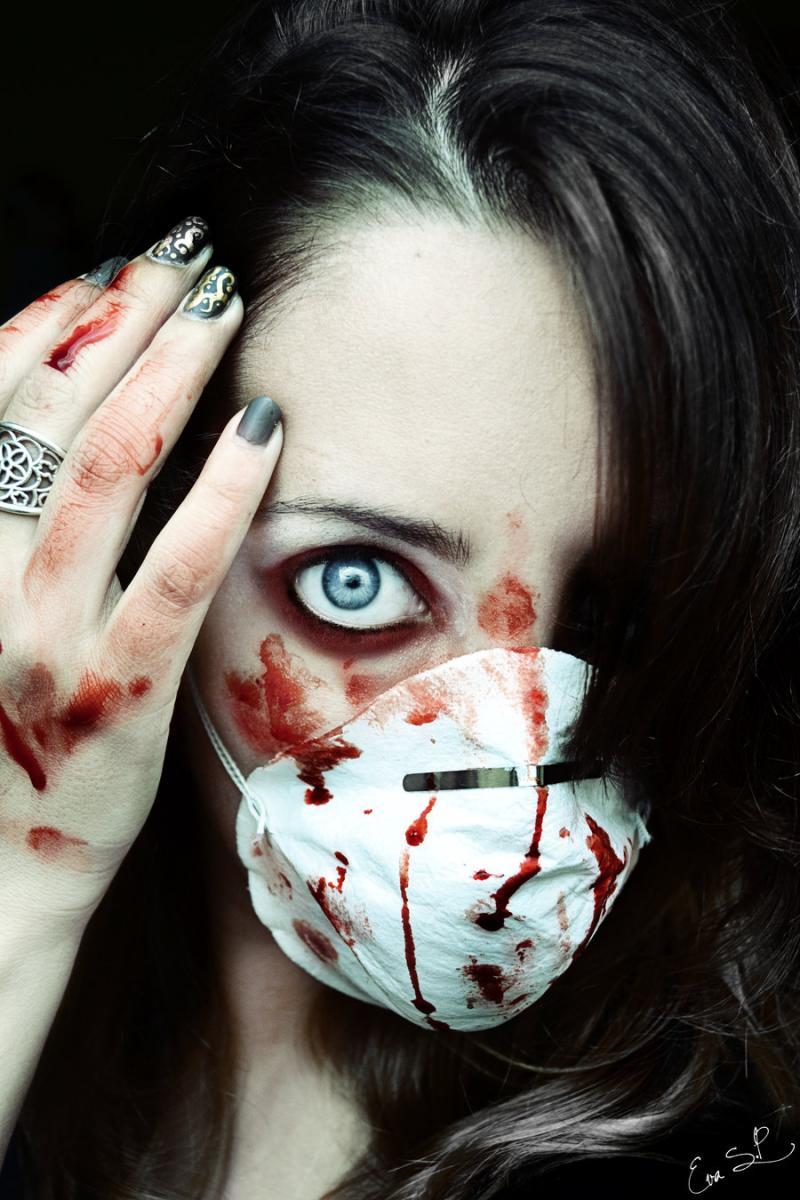 girl, gothic