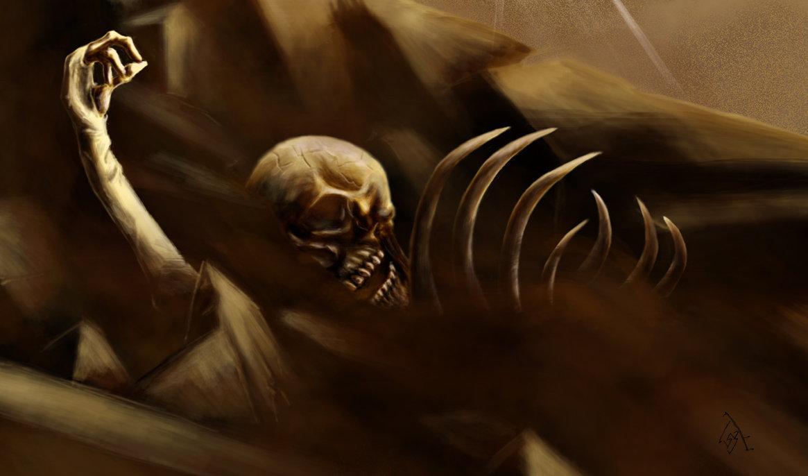 death, dark art, grave