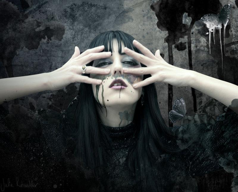 girl, creepy