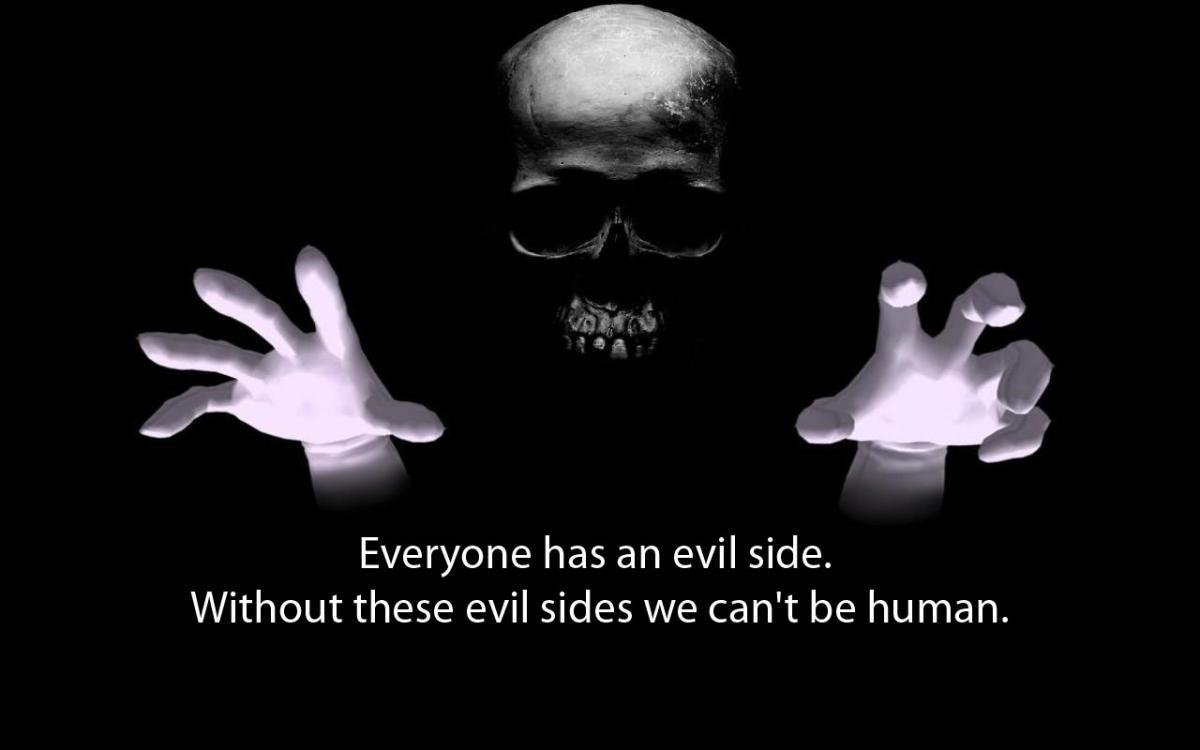 horror, evil, human