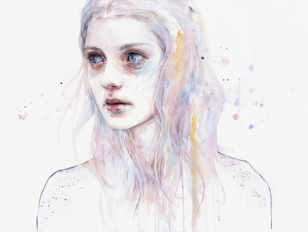 dark art, girl, pain, lost, unloved, mystical