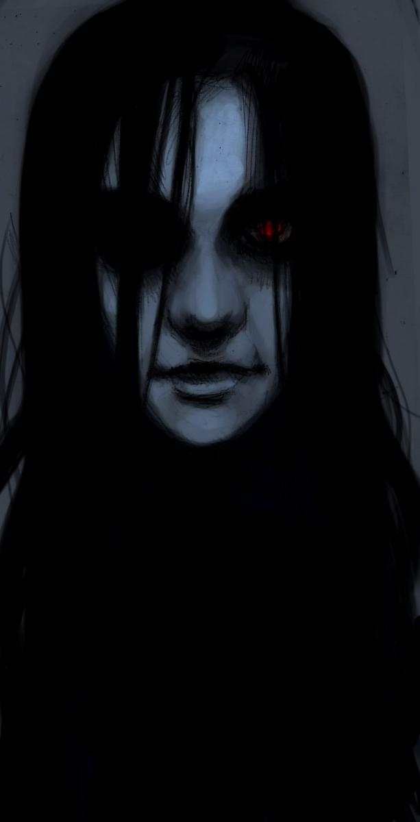 dark art, dark, gothic, girl