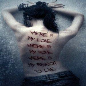 pain, alone, unloved, scar, cut, blood, girl