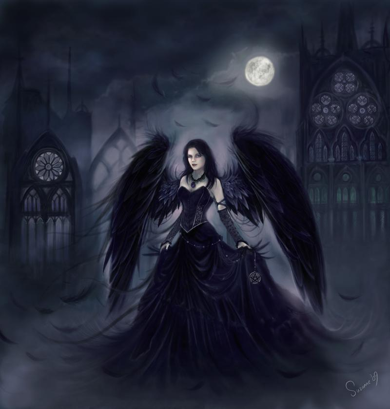 dark beauty, dark world, dark art, girl