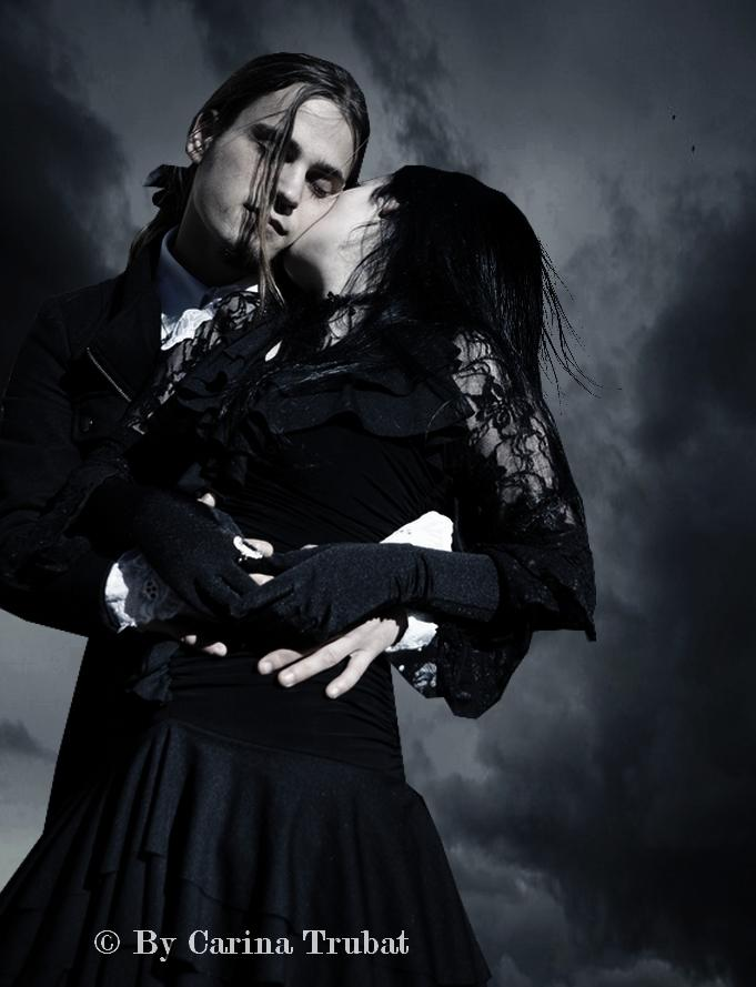 Gothic Love couple Wallpaper : A Gothic Romance - carinaFilth Dark Picture Lover of Darkness