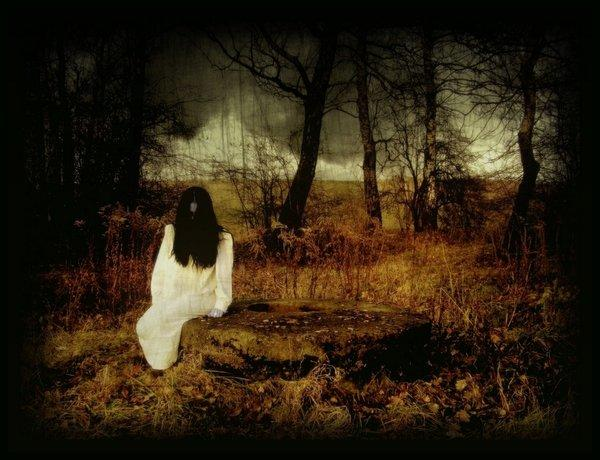dark, gothic, girl