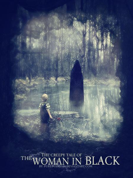 poster, art, creepy