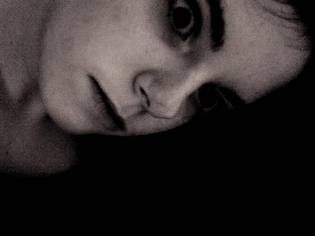 girl, creepy, dark art