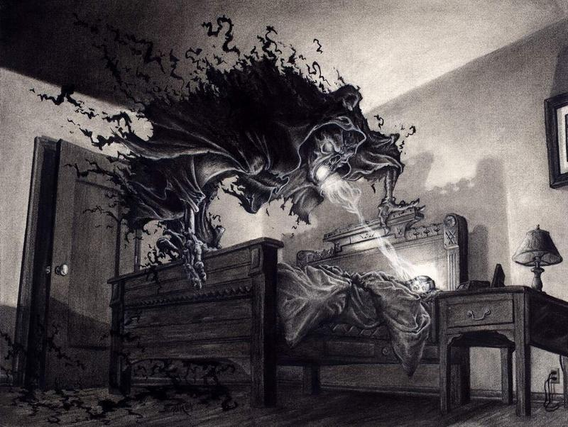 darkness, fear, nighmare, scary, horror