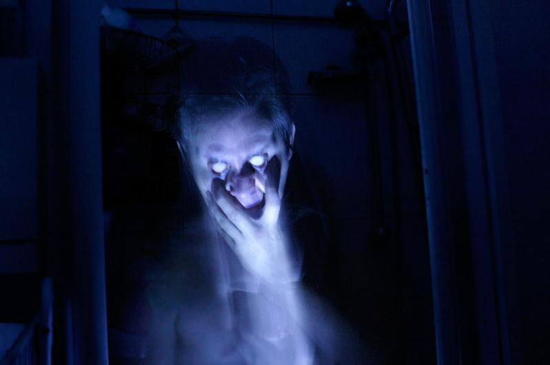dark creature, creepy, scary, ghost, darkness