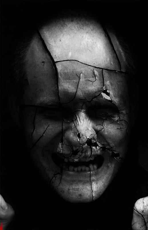 horror, broken