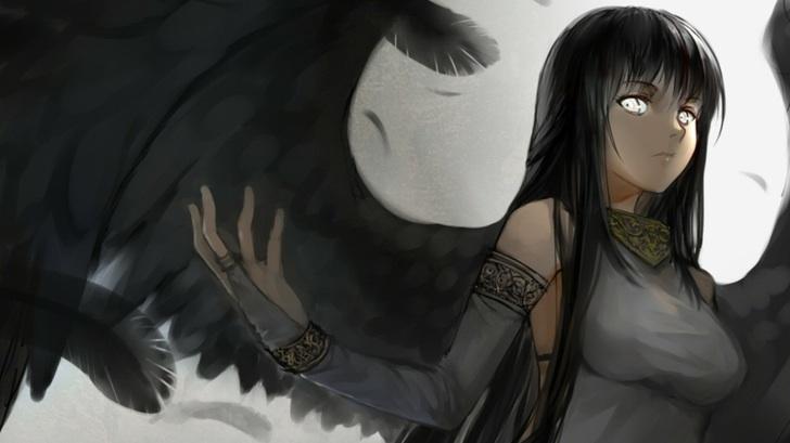 dark art, girl