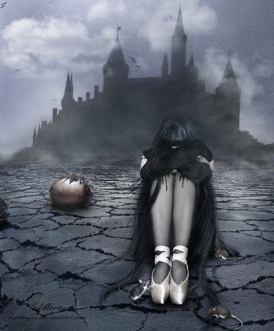 darkness, girl, dark beauty, dark art