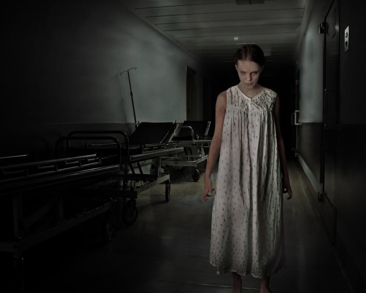 girl, creepy, horror
