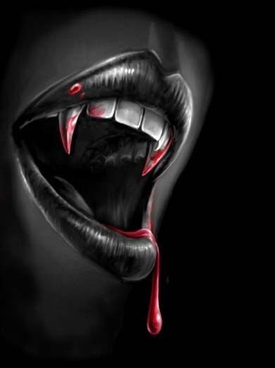 vampire, dark, scary