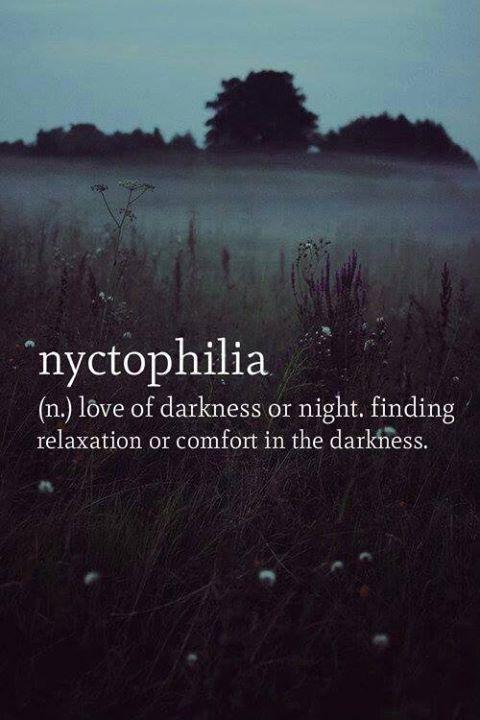 love, darkness