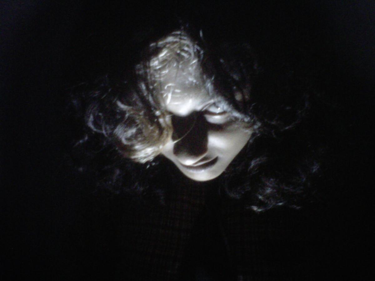 scary, dark, creepy, girl
