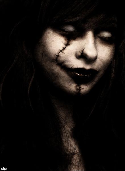 gothic, dark art, girl