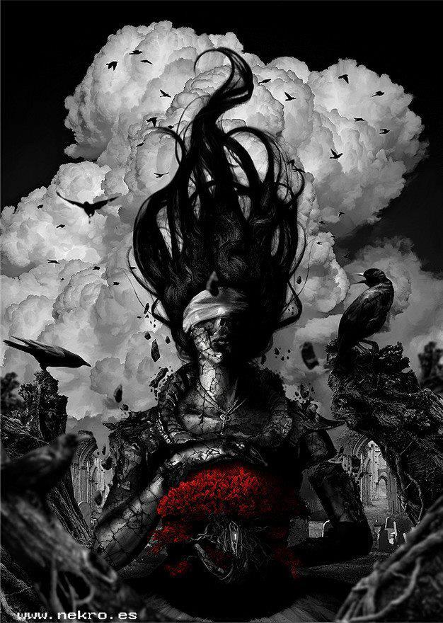 Image of: Horror Dark Art Dark Art Lover Of Darkness 13 Id Nekro Dark Picture Lover Of Darkness