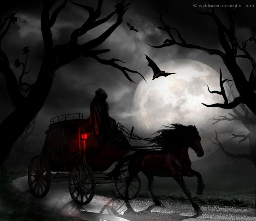 darkness, dark night, mystical, dark art