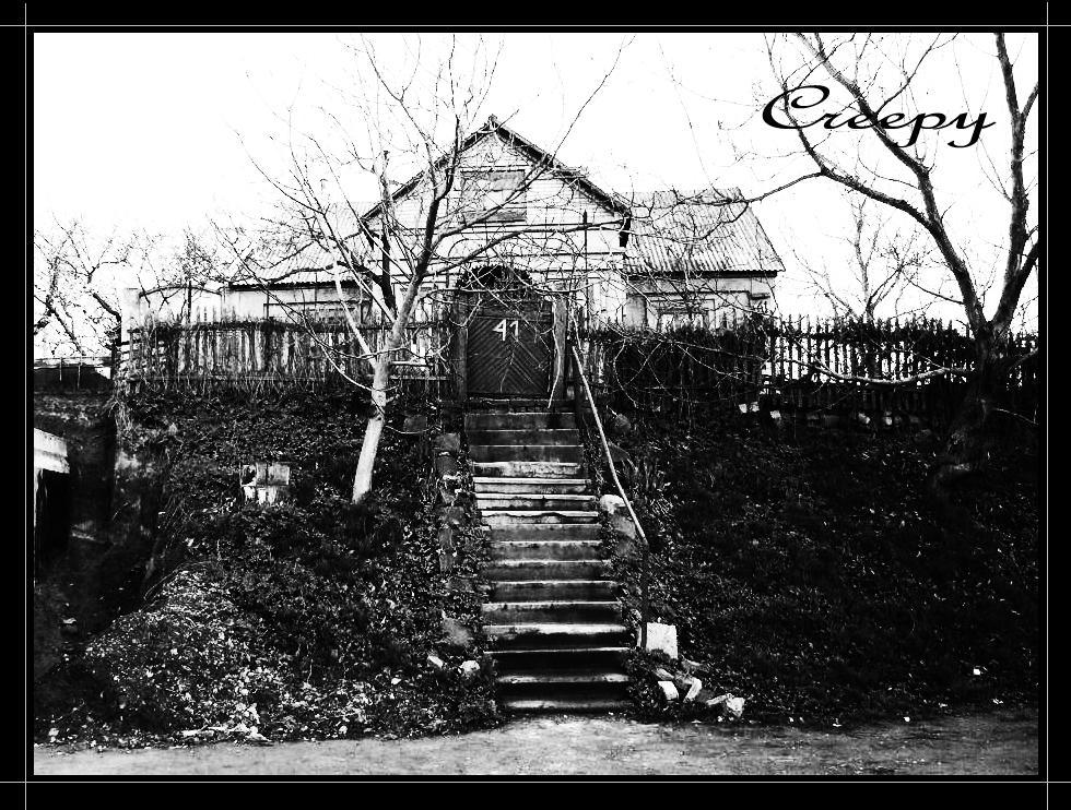 creepy house, scary, haunted, dark