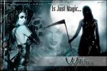 witch, gothic, scary, dark art, girl