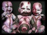 gothic, baby, scary, creepy