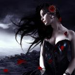 dark beauty,alone,gilr,lost