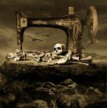 dark art, skull, creepy
