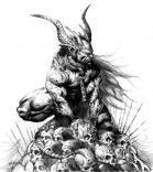 demonic, wicked, creepy